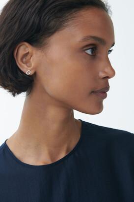 Cos Sterling Silver Stud Earrings