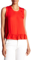 Rebecca Minkoff Tanya Sleeveless Silk Blouse