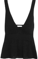 See by Chloe Cotton Top - Black