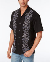 Tommy Bahama Men's Embroidered Floral Silk Shirt