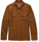 Tom Ford - Slim-fit Suede Shirt