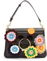 J.W.Anderson Pierce medium crochet-appliqué shoulder bag
