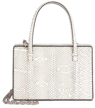 Loewe Python Top Handle Box Bag