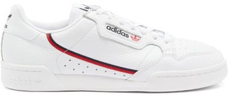 adidas Continental 80 Leather Trainers - Mens - White