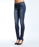 Mavi Jeans Dark Gold Feather Skinny Jeans - Petite