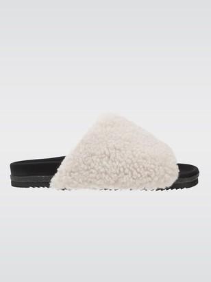 ROAM White Fuzzy Slider