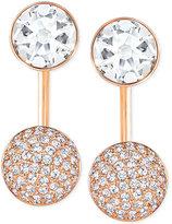 Swarovski Crystal and Pavé Earring Jacket Earrings