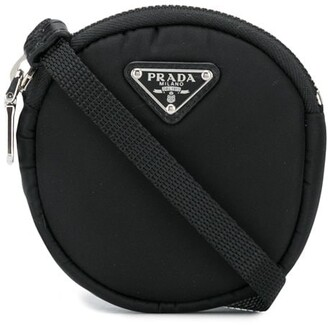Prada Mini Round Crossbody Bag