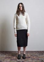 Jil Sander Spiga Pencil Skirt