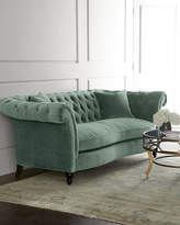 Horchow Jadelyn Tufted Sofa