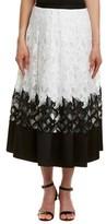 Sachin + Babi Grenada Silk-blend Midi Skirt.