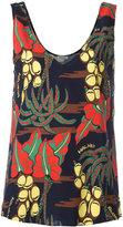 P.A.R.O.S.H. Havana print blouse - women - Silk/Spandex/Elastane - M