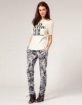 Pants Abstract Printed