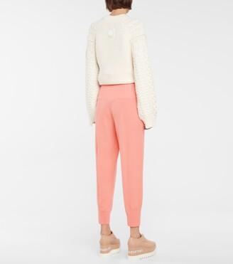 Stella McCartney Virgin wool sweatpants