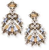 Dannijo Bavaria Crystal Statement Earrings, Multi