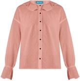 MiH Jeans Half Moon fil coupé cotton blouse