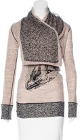 Jean Paul Gaultier Virgin Wool & Silk-Blend Top