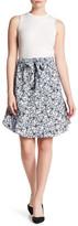 Joe Fresh Flounced Floral Skirt