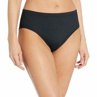 La Blanca Women's Plus-Size Island Goddess High-Rise Bikini Bottom