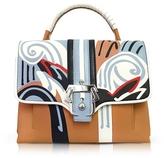 Paula Cademartori Petite Faye Leather Satchel Bag