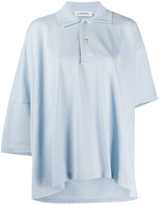 Lanvin Oversized Polo Shirt