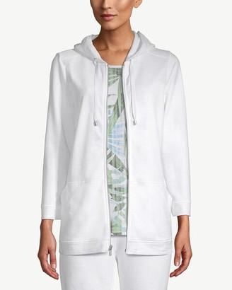 Zenergy Cotton Zip-Front Hooded Jacket