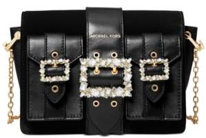 Michael Kors Michael Hayden Medium Leather Pocket Messenger