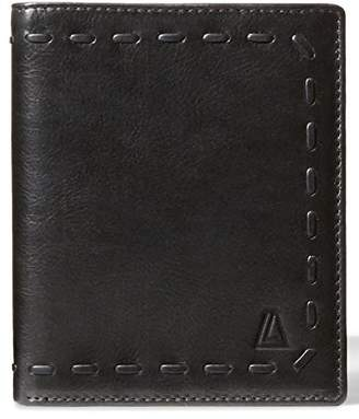 Leather Architect Men's 100% Leather RFID Blocking Wallet with Top Flap