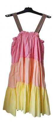 Pitusa Pink Cotton Dresses
