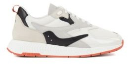 BOSS Unisex trainers with hybrid uppers