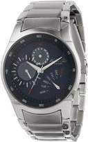 Kenneth Cole New York Kenneth Cole Men's Automatic KC9220 Silver Stainless-Steel Quartz Watch with Dial