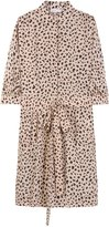 See By Chloé Silk Dress With Fantasy-leopard-print
