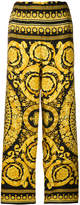 Versace baroque print cropped trousers