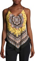 BY AND BY by&by Woven Tank Top-Juniors