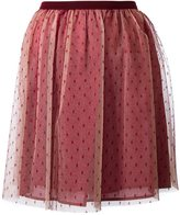 RED Valentino tulle mini skirt - women - Cotton/Polyamide - 42