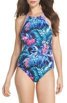 Tommy Bahama Majorelle Reversible One-Piece Swimsuit