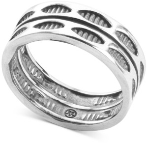 American West Stackable Statement Ring in Sterling Silver