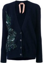 No.21 embellished button-up cardigan