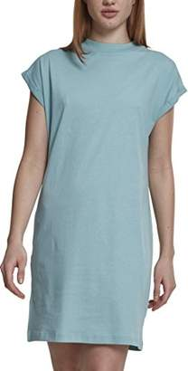 Urban Classic Women's Ladies Turtel Extended Shoulder Dress