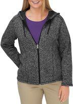 Dickies Plus Size Hooded Sweater Jacket