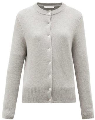 Extreme Cashmere - No. 99 Little Stretch-cashmere Cardigan - Grey
