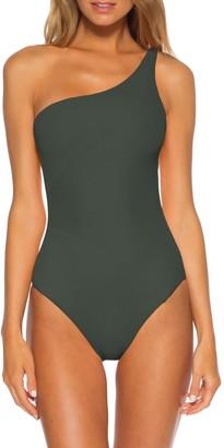 Becca Fine Line One-Shoulder One-Piece Swimsuit