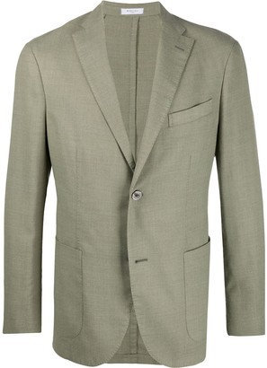 Boglioli Fitted Single-Breasted Blazer