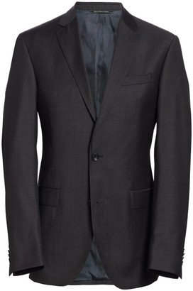 Saks Fifth Avenue MODERN Basic Wool Suit Jacket