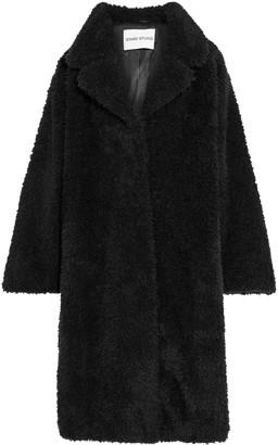 Stand Studio Clara Oversized Faux Shearling Coat