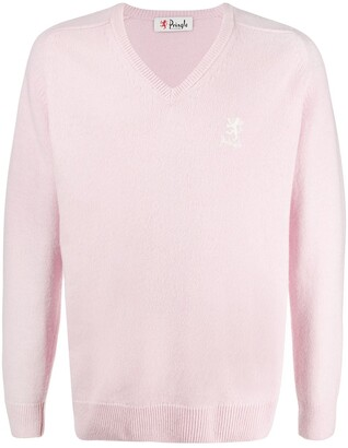 Pringle V-neck long sleeve jumper