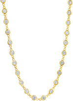 Thumbnail for your product : Sterling Forever 14K Over Silver Cz 36In Wrap Necklace