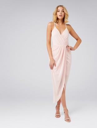 Ever New Gail Glitter Jersey Dress
