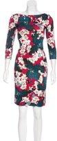 Erdem Printed Knee-Length Dress