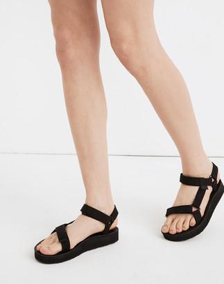Madewell Teva Leather Midform Universal Sandals